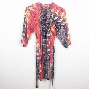 Tucker | Silk Button Up Market Dress